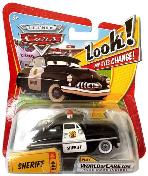Disney Cars The World of Cars Lenticular Eyes Series 1 Sheriff Diecast Car