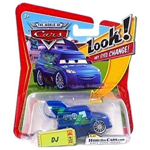 Disney Cars The World of Cars Lenticular Eyes Series 1 DJ Diecast Car