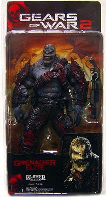 NECA Gears of War 2 Series 4 Locust Grenadier Action Figure [Elite]