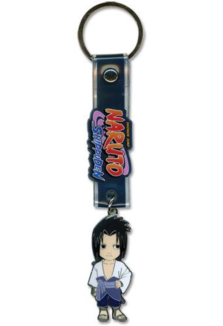Naruto Shippuden Sasuke Keychain [Metal]