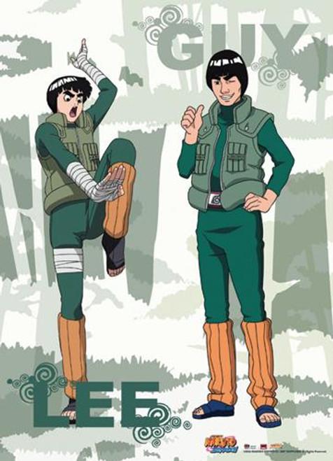 Naruto Shippuden Lee & Guy Wall Scroll