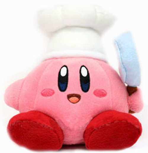 Nintendo Kirby's Adventure Cook Kirby 6-Inch Plush