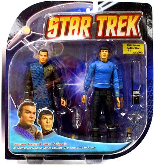 Star Trek The Original Series Romulan Kirk & Spock Action Figure 2-Pack