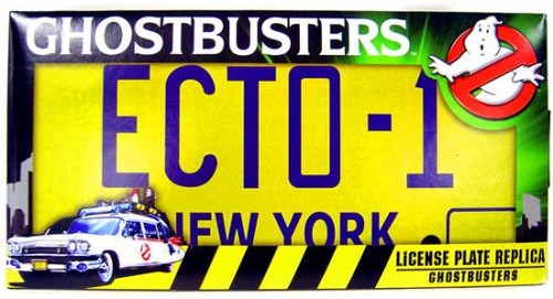 Ghostbusters ECTO-1 License Plate Prop Replica