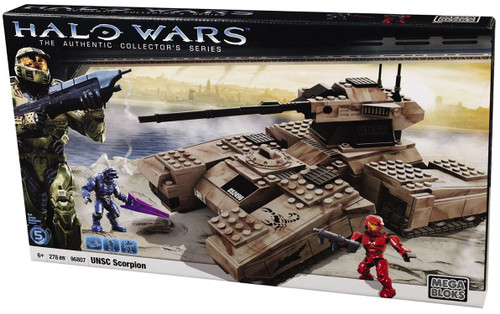 Mega Bloks Halo The Authentic Collector's Series UNSC Scorpion Tank Set #96807