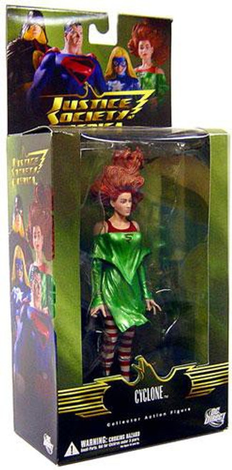 DC Justice Society of America Series 2 Cyclone Action Figure