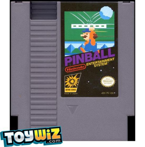 Nintendo NES Pinball Video Game Cartridge [Played Condition]