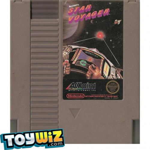 Nintendo NES Star Voyager Video Game Cartridge [Played Condition]