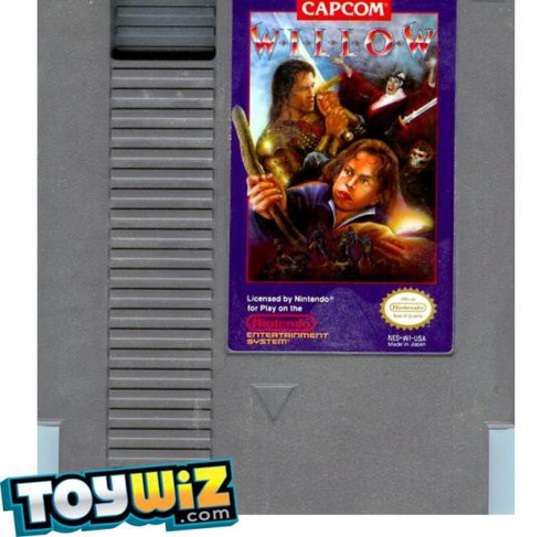 Capcom Nintendo NES Willow Video Game Cartridge [Played Condition]