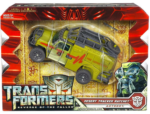 Transformers Revenge of the Fallen Desert Tracker Ratchet Voyager Action Figure