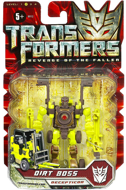Transformers Revenge of the Fallen Dirt Boss Scout Action Figure