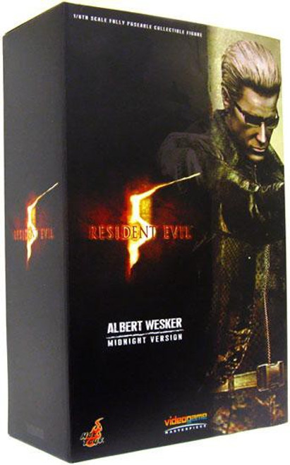 Resident Evil 5 Video Game Masterpiece Albert Wesker 1/6 Collectible Figure [Midnight Version]