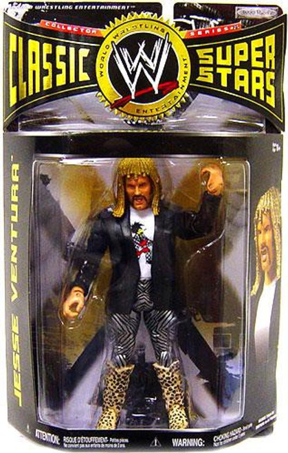 WWE Wrestling Classic Superstars Series 25 Jesse Ventura Action Figure [With Wig]