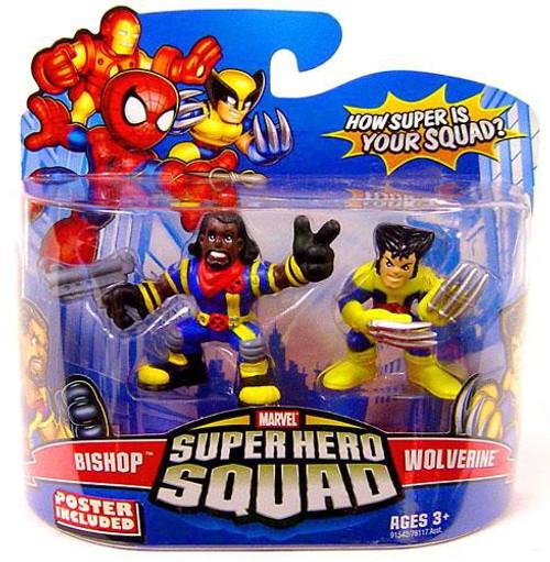 Marvel Super Hero Squad Series 14 Wolverine & Bishop Action Figure 2-Pack