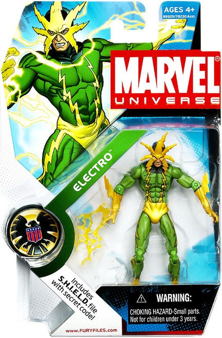 Marvel Universe Series 4 Electro Action Figure #25