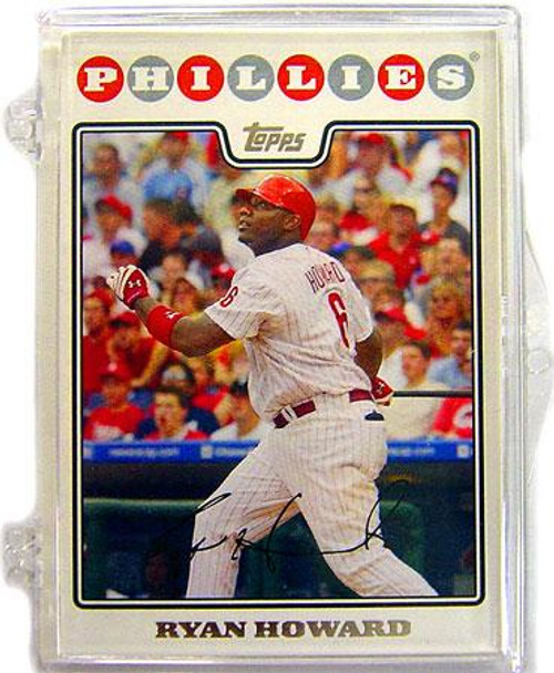 MLB 2008 Topps Baseball Cards Philadelphia Phillies Team Set [Plastic Case]