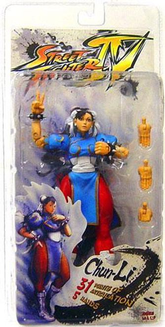 NECA Street Fighter IV Series 2 Chun-Li Action FIgure
