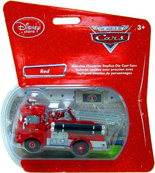 Disney Cars 1:48 Single Packs Red the Firetruck Exclusive Diecast Car