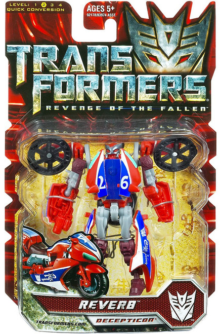 Transformers Revenge of the Fallen Reverb Scout Action Figure