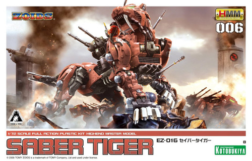 Zoids Highend Master Model Saber Tiger 1/7 Model Kit EZ-016