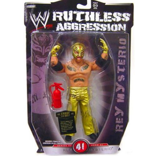 WWE Wrestling Ruthless Aggression Series 41 Rey Mysterio Action Figure