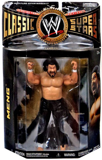 WWE Wrestling Classic Superstars Series 26 Meng Action Figure
