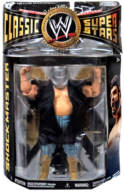 WWE Wrestling Classic Superstars Series 26 Shockmaster Action Figure