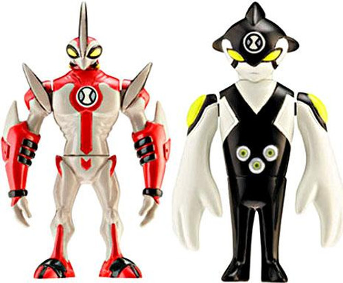 Ben 10 Alien Force Alien Creation Chamber Ditto & WayBig Mini Figure 2-Pack [Random Color Eyes]