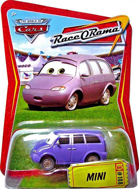 Disney Cars The World of Cars Race-O-Rama Mini Diecast Car #108