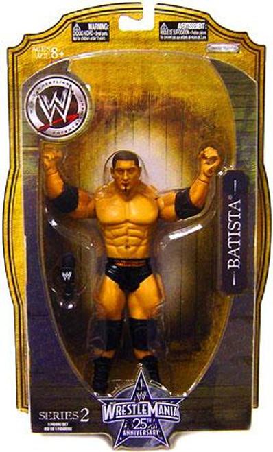 WWE Wrestling WrestleMania 25 Series 2 Batista Action Figure