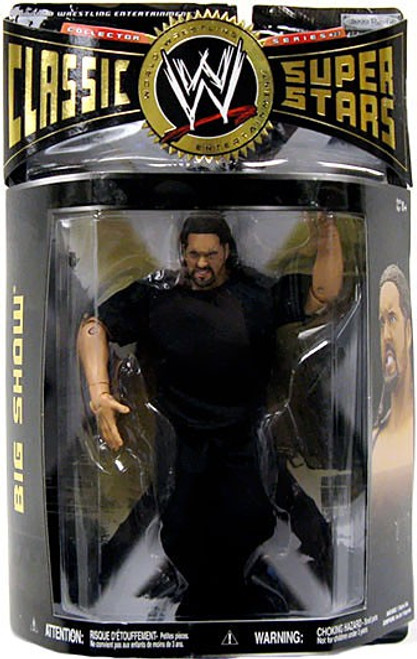 WWE Wrestling Classic Superstars Series 27 Big Show Action Figure [Paul Wright]