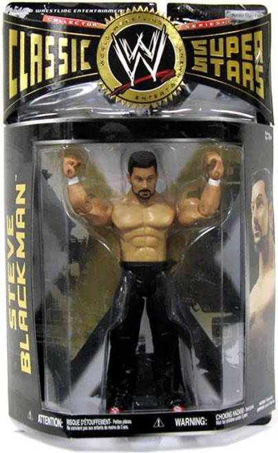 WWE Wrestling Classic Superstars Series 27 Steve Blackman Action Figure