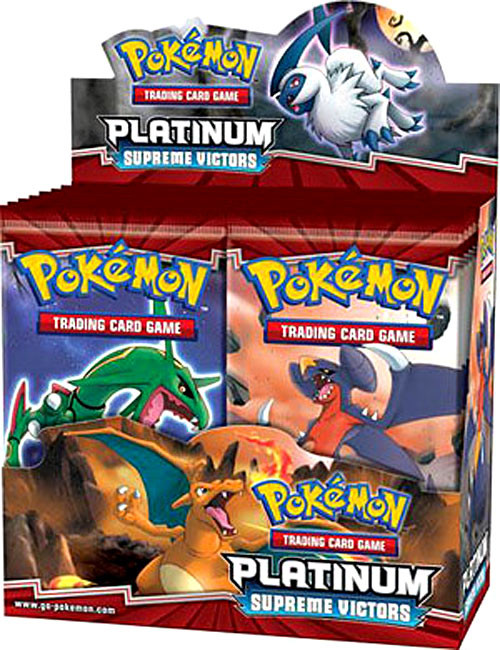 Pokemon Platinum Supreme Victors Booster Box [36 Packs] [Sealed]