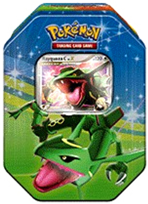 Pokemon Platinum Fall 2009 Rayquaza Collector Tin