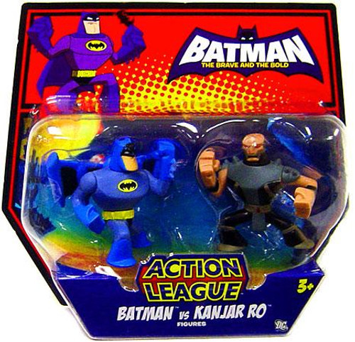 The Brave and the Bold Action League Batman Vs. Kanjar Ro Mini Figure 2-Pack
