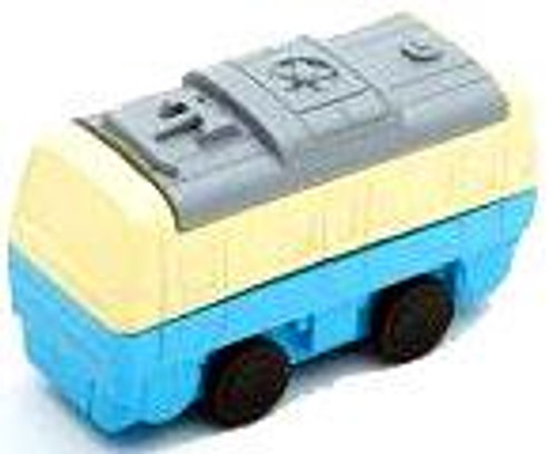 Iwako Train Car Eraser [Blue & White]