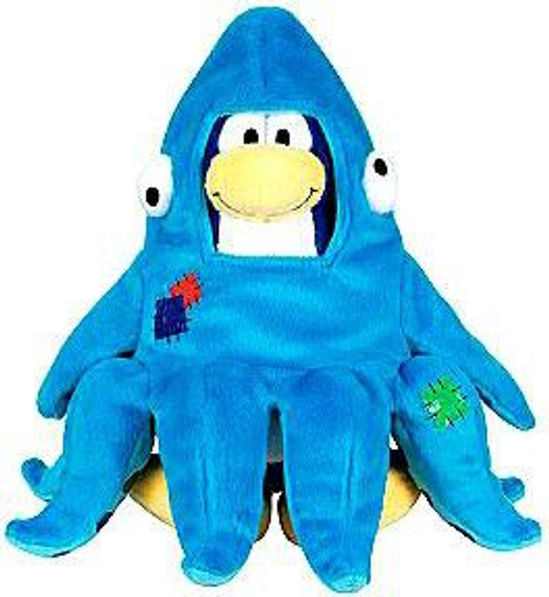 Club Penguin Series 3 Squidzoid 6.5-Inch Plush Figure [Version 1]