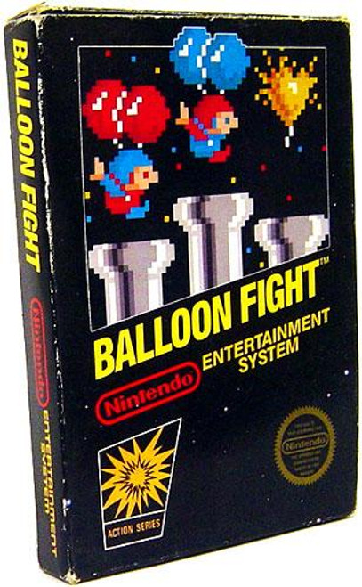 Nintendo NES Balloon Fight Video Game Cartridge [Opened, Incomplete]