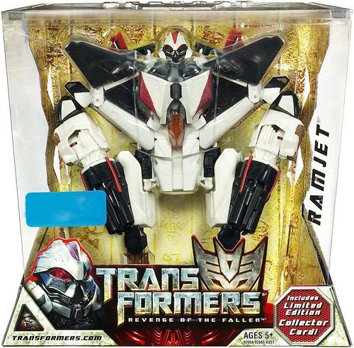 Transformers Revenge of the Fallen Ramjet Exclusive Voyager Action Figure