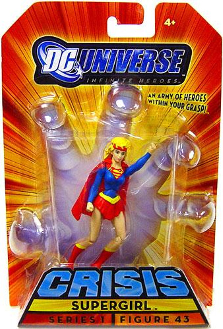 DC Universe Crisis Infinite Heroes Series 1 Supergirl Action Figure #43
