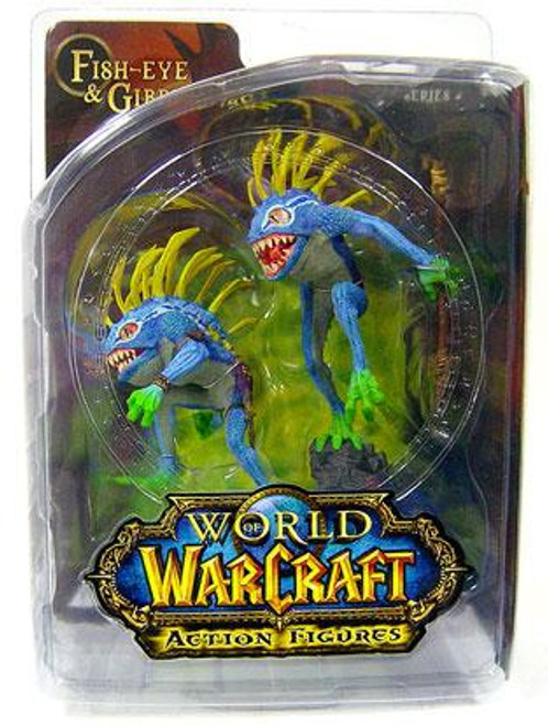 World of Warcraft Series 4 Fish-Eye & Gibbergil Murloc Action Figure 2-Pack [Both Blue]