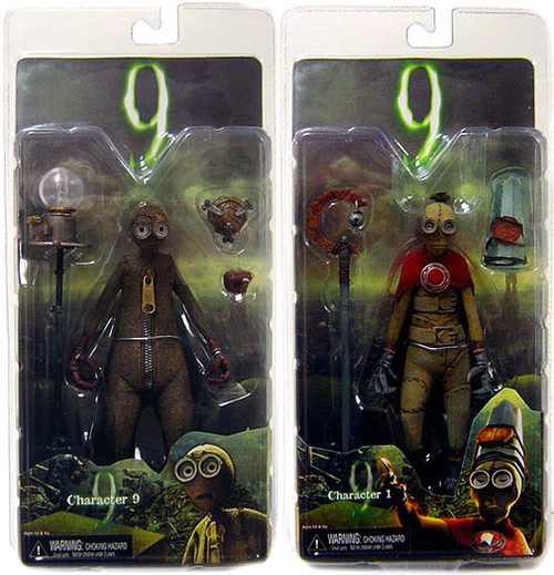 NECA Set of 2 9 Action Figures