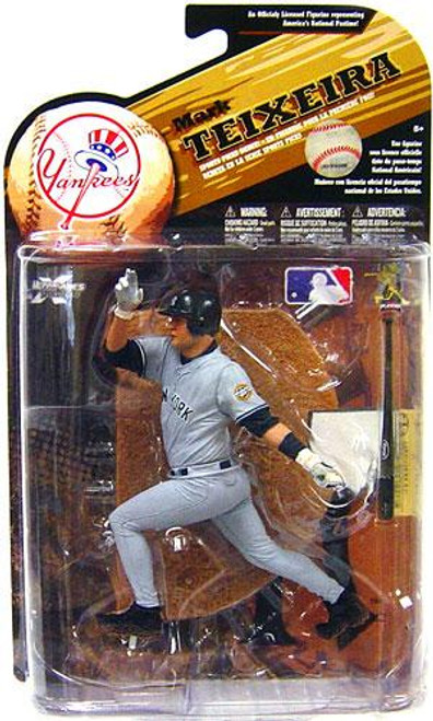McFarlane Toys MLB Sports Picks Series 25 Mark Teixeira (New York Yankees) Action Figure [Gray Jersey Variant]