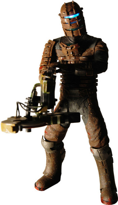 NECA Dead Space Isaac Action Figure [Bloody with Ripper Variant]
