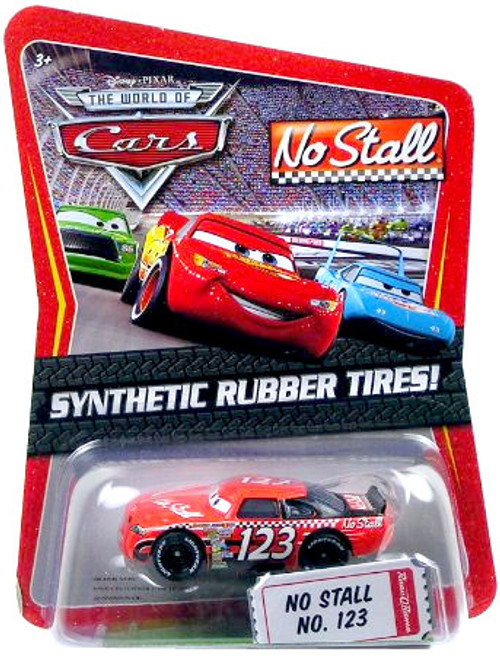 Disney Cars The World of Cars Synthetic Rubber Tires No Stall No. 123 Exclusive Diecast Car