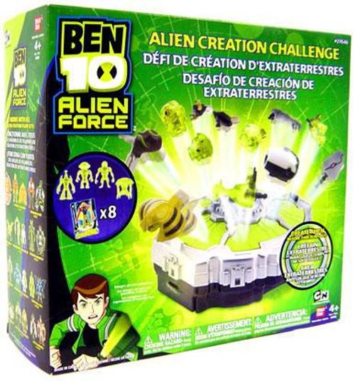 Ben 10 Alien Force Alien Creation Challenge Playset