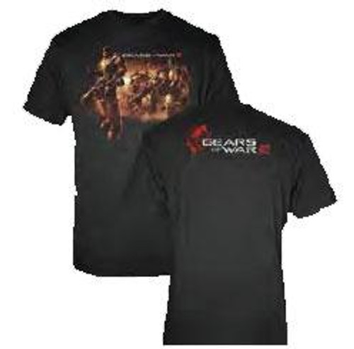 Gears of War March Of The Fallen Soldiers T-Shirt GW206 [Adult Small]