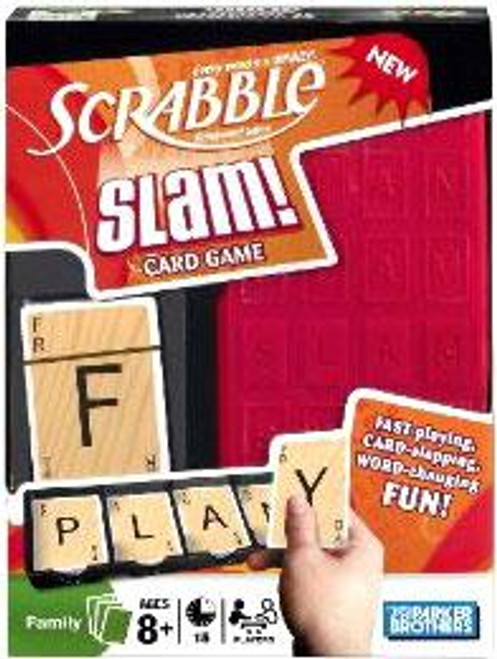 Scrabble Slam Deluxe Card Game