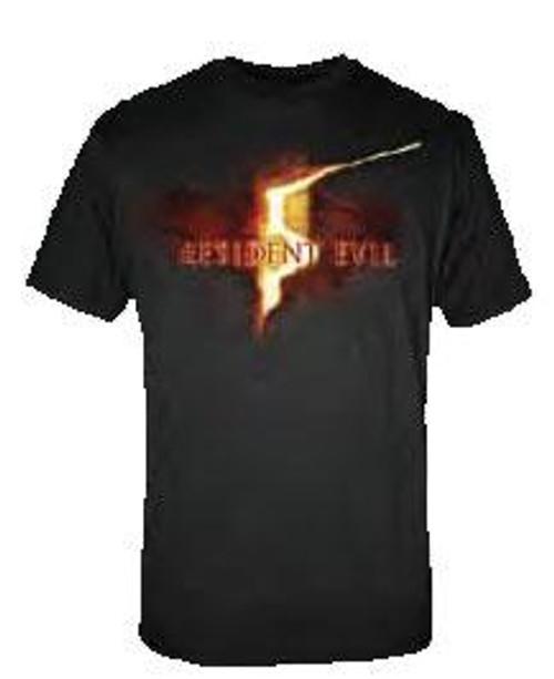 Resident Evil Logo T-Shirt RE5 [Adult Large]