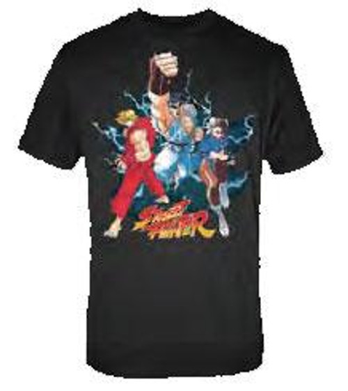 Street Fighter Trio T-Shirt [Adult Small]
